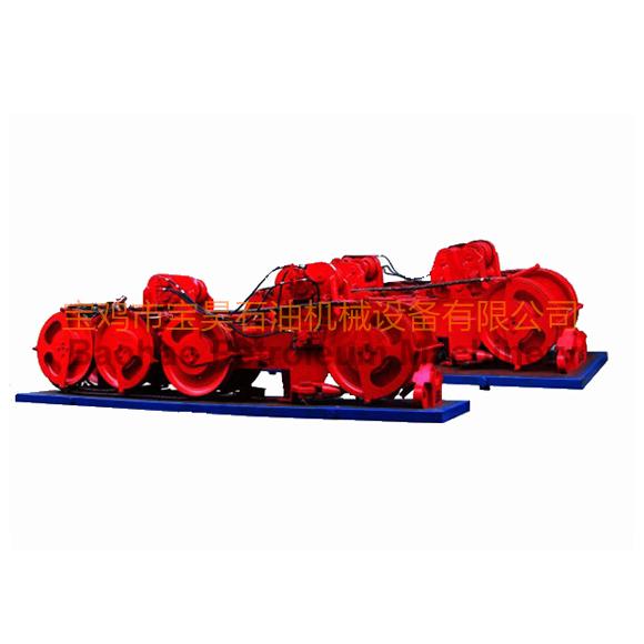气控环链式防喷器吊移装置